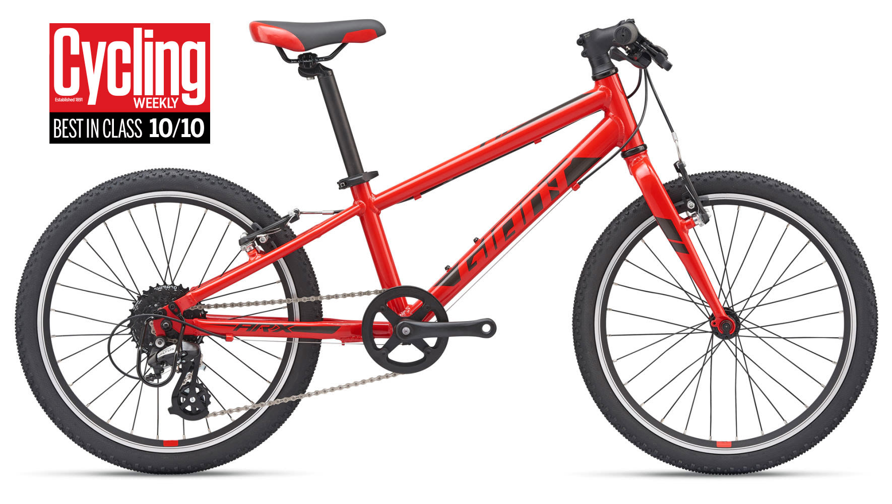 2019 Giant Arx 20 Childs Bike In Red 163 299 00