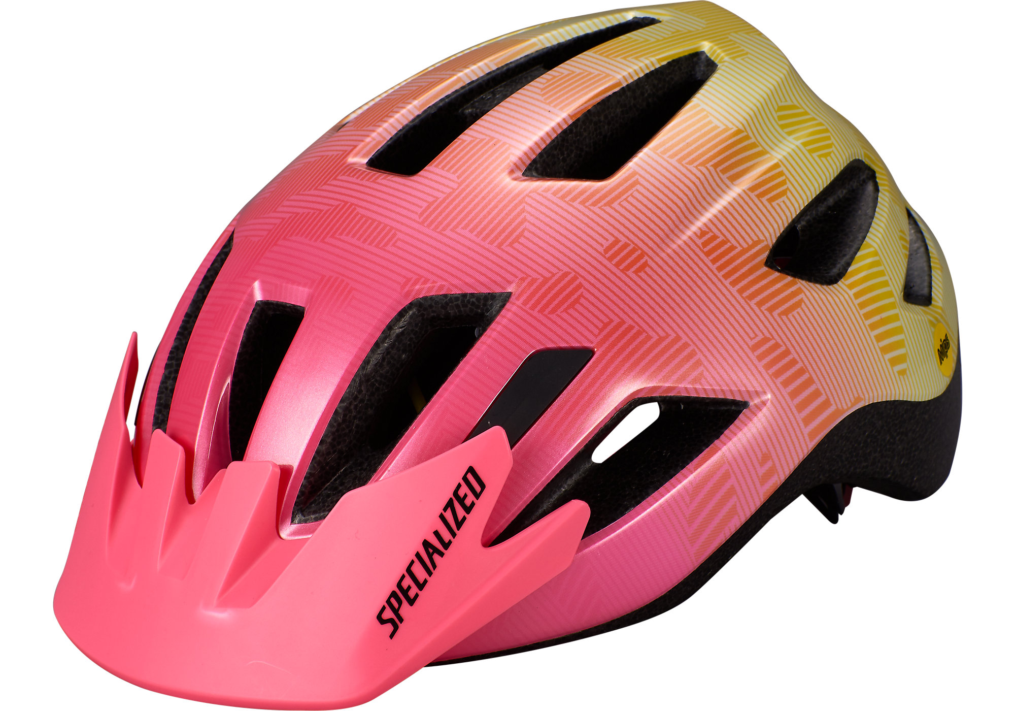 2020 Specialized Shuffle Led Mips Childs Helmet In Yellow